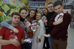 Полтавські республіканці роздають «валентинки»