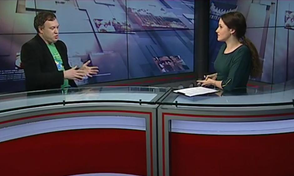 Тетяна Кондель і Павло Вікнянський ефір Гамма про занепад України і вихід із кризи