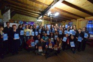 Учасники ЗиСР-VIII з дипломами