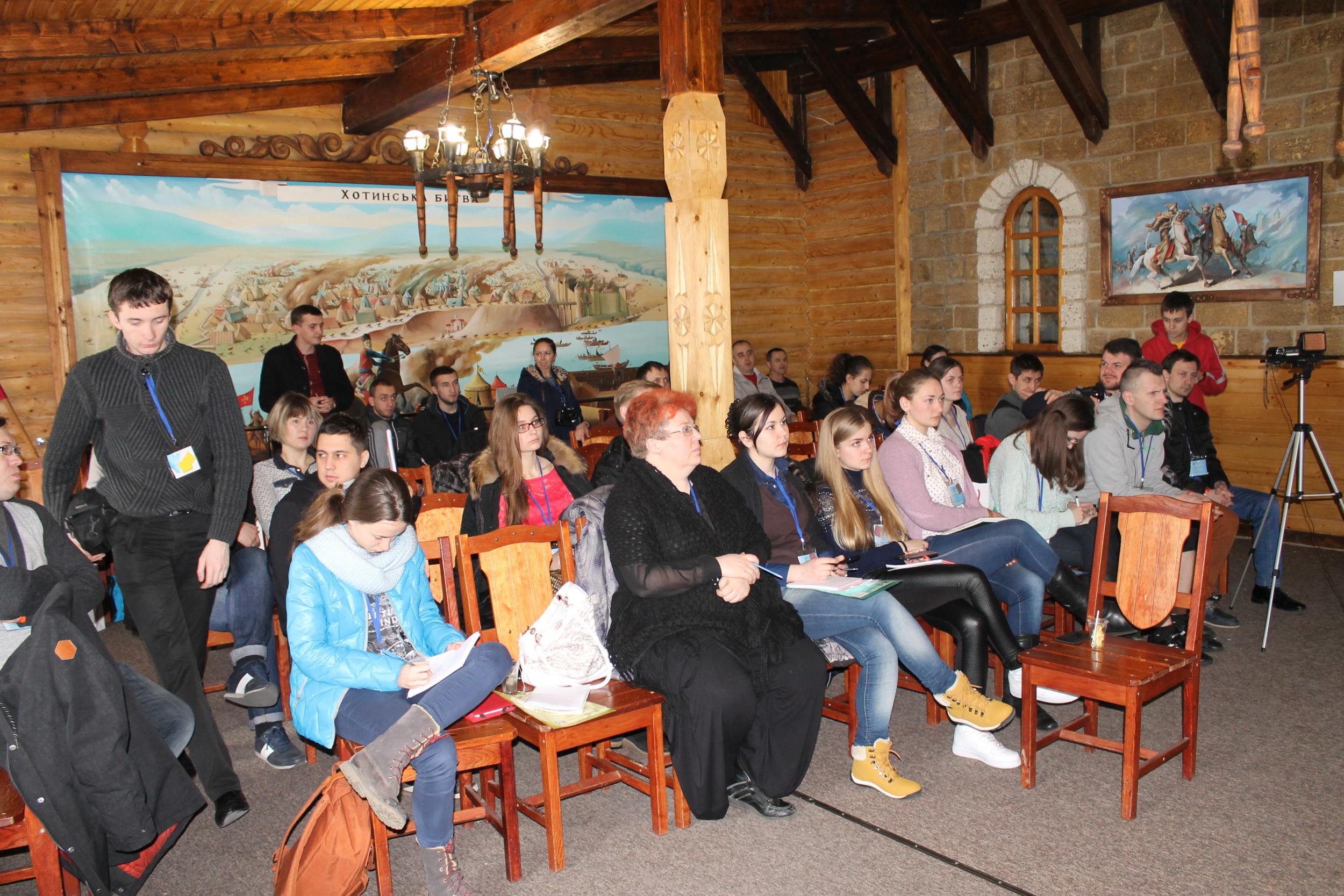 Учасники ЗиСР-VIII під час пленарного засідання