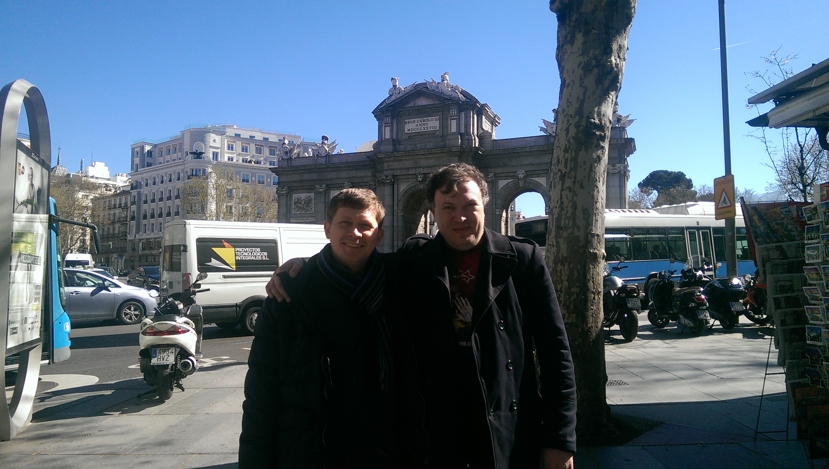 Павло Вікнянський в Іспанії.