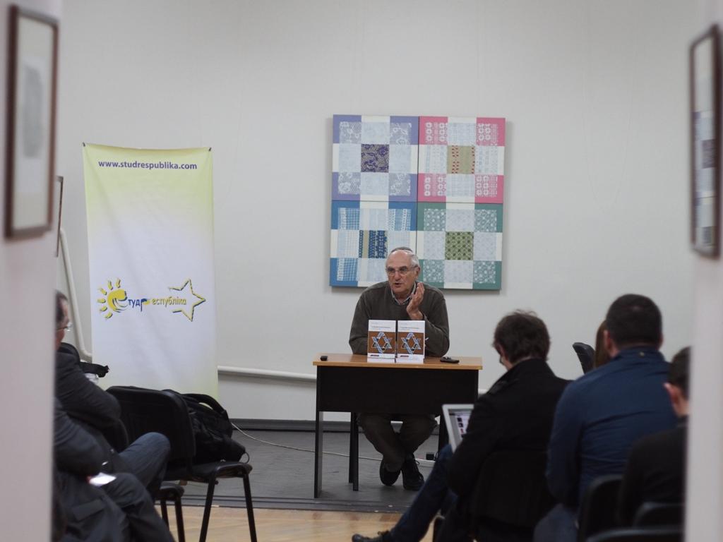 Яків Рабкін у Чернівцях