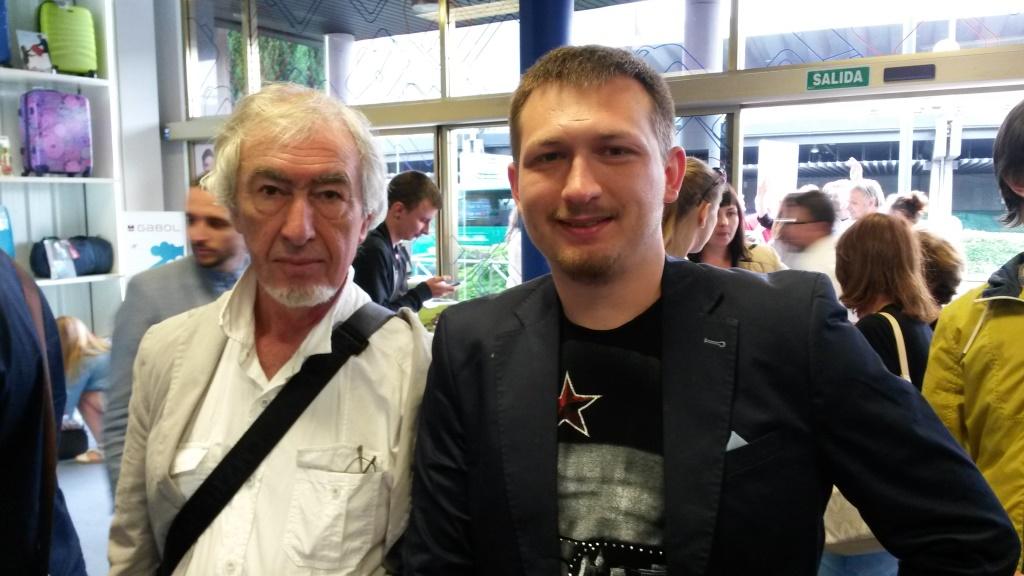 Артем Ніколенко й Олексій Левінсон